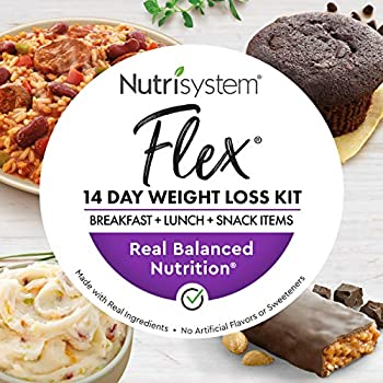 Image of Nutrisystem® Flex 14 Day Weight Loss Kit, Includes Breakfasts, Lunches & Snacks for 14 Days, Perfectly Portioned for Weight Loss® Health and Household