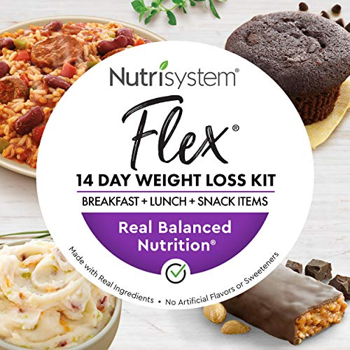 Nutrisystem® Flex 14 Day Weight Loss Kit, Includes Breakfasts, Lunches & Snacks for 14 Days, Perfectly Portioned for…