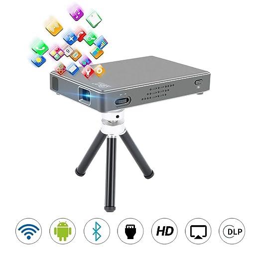 John-L Proyector Cine en casa,Mini proyector portátil ...