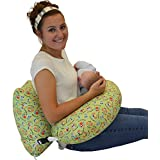 The NEW One Z Nursing Pillow w/ AMAZING BACK SUPPORT -USA- WATERPROOF OWLS