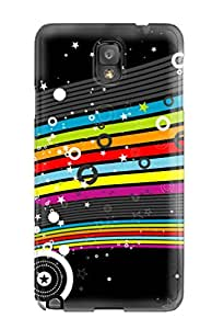 Sherry Green Russell's Shop Hot Galaxy Note 3 Case Slim [ultra Fit] Colorful Stars Hd Protective Case Cover 5704982K20299953