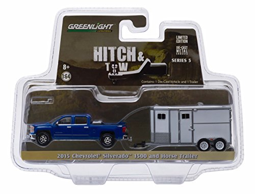 New 1:64 HITCH & TOW SERIES 5 - BLUE 2015 CHEVROLET for sale  Delivered anywhere in USA