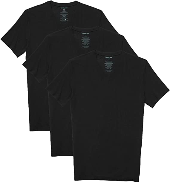 Tommy John Cool Deep V-Neck T-Shirt Mens Undershirt New  Second Skin Soft