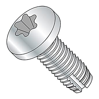 Pack of 50 3//4 Length Zinc Plated Finish Pack of 50 Type 1 Steel Thread Cutting Screw 1//4-20 Thread Size Star Drive Small Parts 14121TP Pan Head 1//4-20 Thread Size 3//4 Length