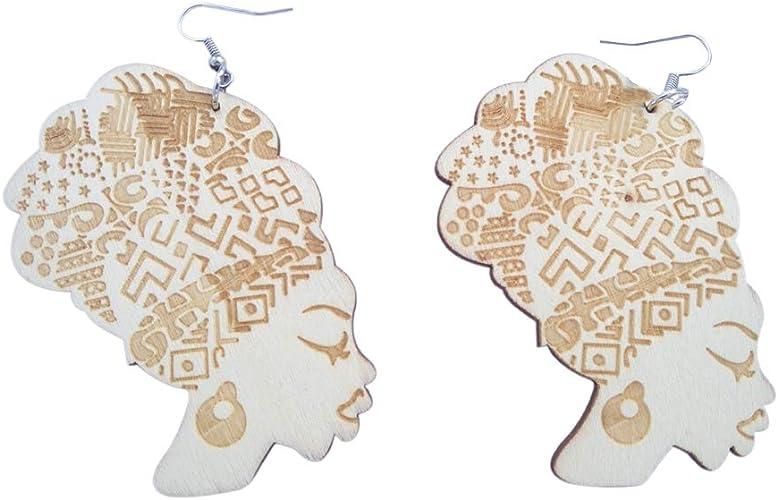 Phenomenal Latina Wooden Earrings