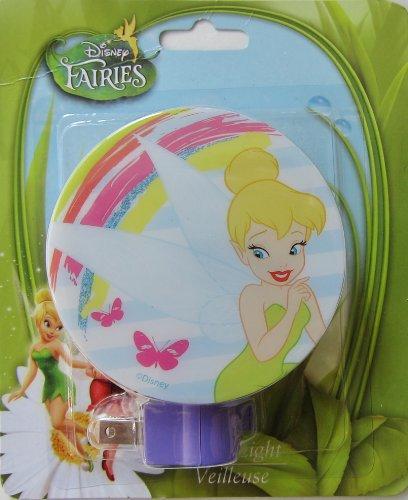Night Tinkerbell Disney Light (Disney Tinkerbell Tink Tinker Fairy Bell Night Light - Assorted Styles)