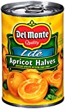Del Monte Canned Apricot Halves in Extra Light Syrup, 15-Ounce