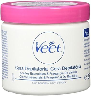 Veet Formula Oriental - Cera depilatoria con bandas, 25 cl: Amazon ...
