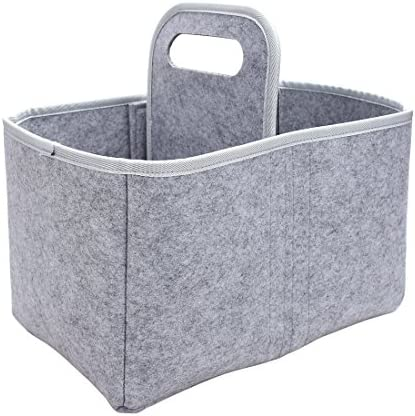 HUAIDE インサートバッグ オーガナイザー フェルト コスメ 収納バッグ トートシェイパー