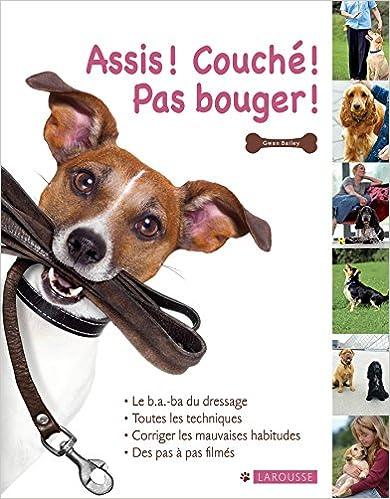Book's Cover of Assis, couché, pas bouger (Français) Broché – 21 septembre 2016