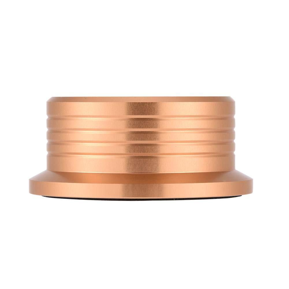 Vbestlife Tocadiscos de Reproductor de Discos. Abrazadera Estabilizadora de Disco Giratorio de 50 Hz con Nivel de Burbuja para Reproductor de Discos ...