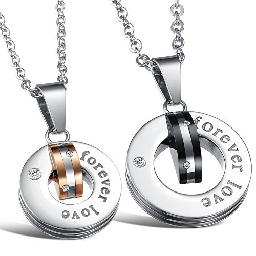 [Dixivi Jewelry A Pair Couple Engraved
