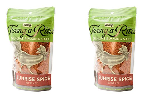 Twang-a-Rita Rimming Salt Varieties - 4 ounce pouch - (2 pack) (Sunrise Spice (Bloody Mary)) by Twang (Image #3)