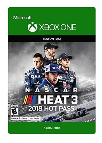 Nascar Heat 3  2018 Hot Pass   Xbox One  Digital Code