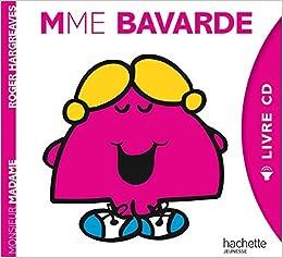Monsieur Madame Livre Cd Mme Bavarde 9782012205956