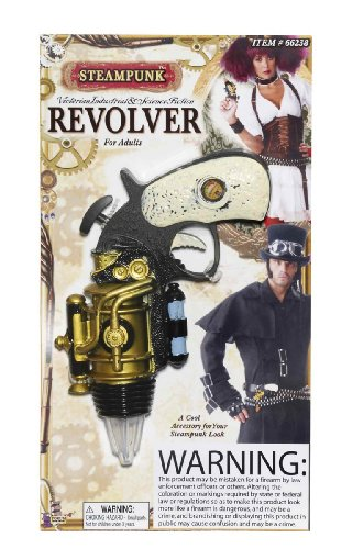 Forum Novelties Steampunk Revolver Theater Prop Toy 2