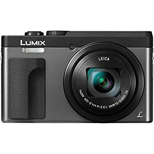 "Panasonic DC-ZS70K Lumix 20.3 Megapixel, 4K Digital Camera, Touch Enabled 3"" 180 Degree Flip-Front Display, 30x Leica DC Vario-Elmar Lens, Wi-Fi with 3"" LCD, Black"