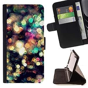 """For Samsung Galaxy Note 5 5th N9200,S-type Reflexión Glitter Sun Surf Verano"""" - Dibujo PU billetera de cuero Funda Case Caso de la piel de la bolsa protectora"""