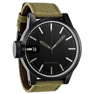 Nixon Chronicle Negro Mate / Excedente Reloj A127-1042