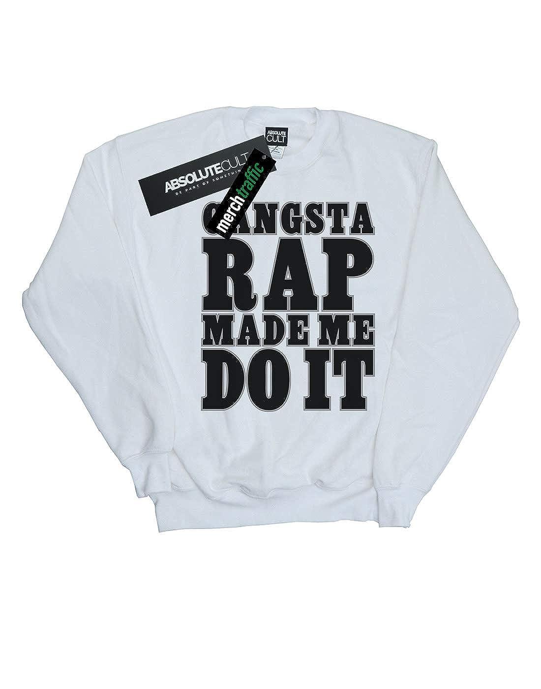 ac81db9b3 Absolute Cult Ice Cube Niñas Gangsta Rap Camisa De Entrenamiento   Amazon.es  Ropa y accesorios