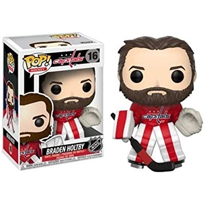 Funko Pop NHL 21352 Braden Holtby(Home Jersey) Collectible Vinyl Figure: Funko Pop! Nhl S2:: Toys & Games
