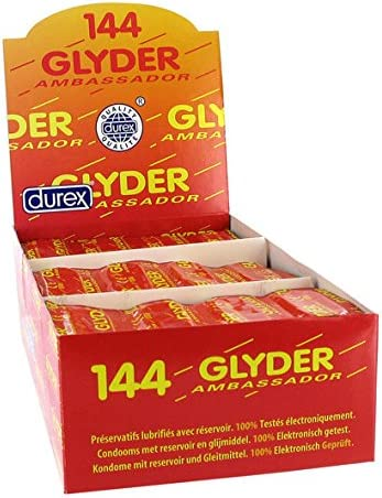 DUREX GLYDER AMBASSADOR (CAJA 144 UNIDADES): Amazon.es: Hogar