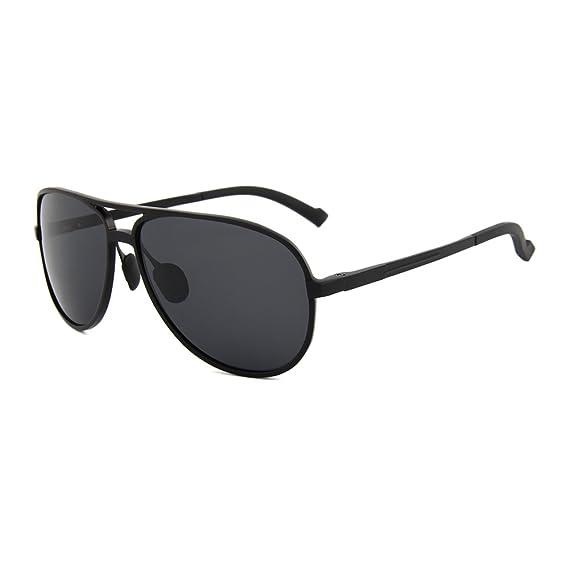 579a8143 Buho Eyewear Lentes de Sol Estilo Aviador de Aluminio Polarizados Modelo  Tarifa (negro): Amazon.com.mx: Ropa, Zapatos y Accesorios
