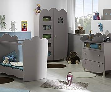 b9bad6b1d1710d Babyzimmer komplett Linea Lein Sand mit Babybett mit durchsichtigen Seiten