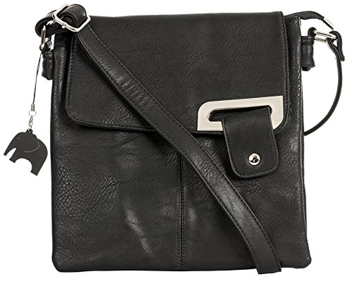 Femme Handbag Chic Et Noir Big À Bandoulière Finitions Shop Argentés sac Crossbody Pour Sac Elegant Casuel vHdBdqwz