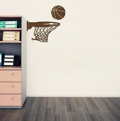 Amazon.com: Dalxsh - Pegatinas de pared de baloncesto y red ...