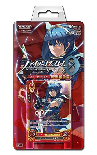 Nintendo Fire Emblem 0 cipher Dark War Starter Deck Card Game JAPAN
