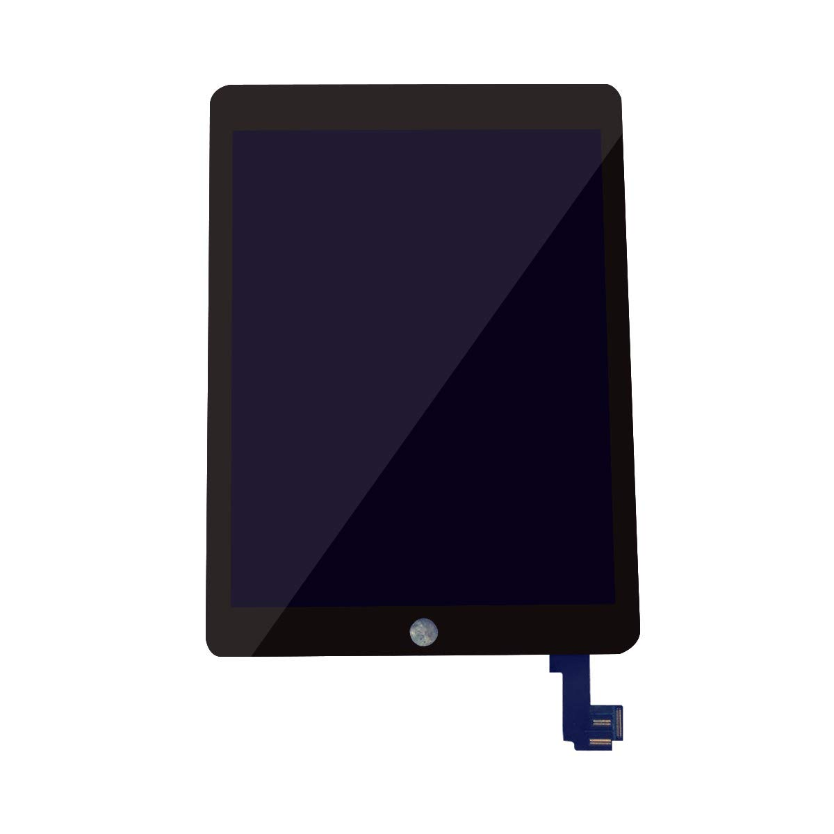 (Swifthorse) Replacement LCD Touch Screen Assembly Compatible with IPAD 6 Air 2 Model A1566 A1567 (Black) + Free Teardown Tool