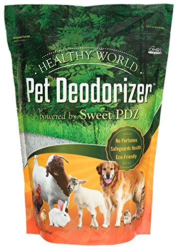 (PDZ Company Healthy World Pet Deodorizer, 3.5 lbs)