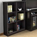 Cheap Bush Furniture Cabot 6 Cube Bookcase in Espresso Oak