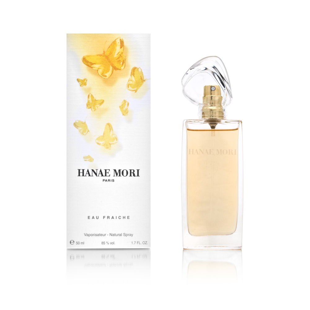 Hanae Mori Eau Fraiche Spray for Women, 1.7 Ounce