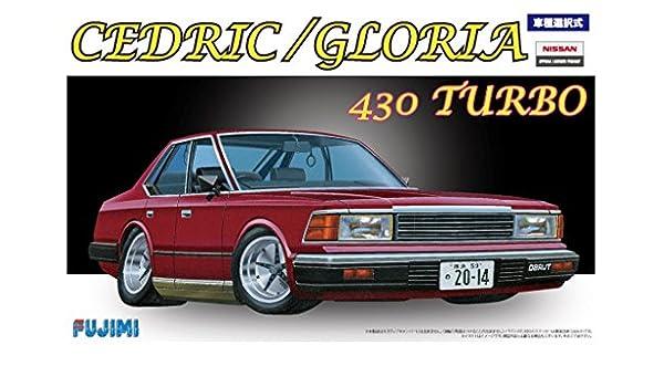 Fujimi modelo de serie de hasta 1./2.4. pulgadas Nissan Cedric / Gloria 4.3.0 Turbo plaestico ID-5.0: Amazon.es: Juguetes y juegos