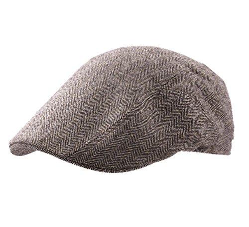 Stetson Ivy Cap Cashmere Flat Cap Size S Brown-363 ()