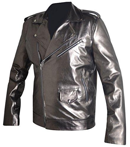 QuickSilver Even Peter X MEN Apocalypse Leather Jacket, FAUX Leather, XXS-3XL at Amazon Mens Clothing store: