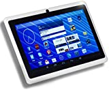 "DeerBrook 7"" Android 4.4 KitKat Tablet PC, Dual Core 1.5GHz A23 Processor, 512MB / 4GB, Dual Camera, Bluetooth, G-Sensor (White)"