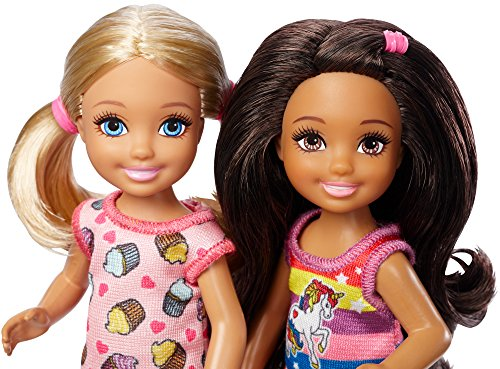 Review Barbie Club Chelsea Slumber Party Dolls & Accessories, 2 Pack