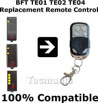 BFT TE01 TE02 TE04 Universal Remote Control Amazoncouk