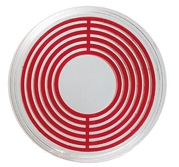Lindner Cápsulas para bandejas grandes 2231P, Cápsulas grandes (incl. anillo rojo),