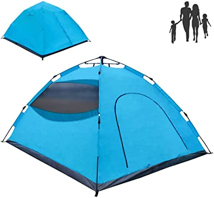 Instant Automatic pop up Tent LETHMIK Backpacking Tent Climbing Travel 2-3 Person Hiking Waterproof Lightweight Double Layer Camping Tent for Outdoor Hunting