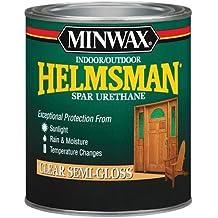 Minwax 63210444 Helmsman Spar Urethane, quart, Clear Semi-Gloss