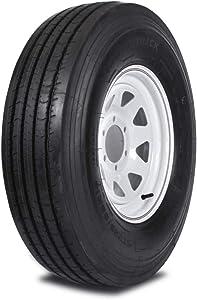 Mastertrack UN-ALL STEEL ST 235/85R16 132/127L 14 PR Heavy Duty Special Trailer Tire (Tire Only)
