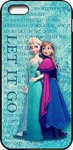 Disney Frozen iPhone 5C Case Cover - Disney Frozen iPhone 5C Hard Plastic Case Cover - Black