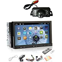 Camera+android4.4 Tablet Navigation GPS Car DVD Player Stereo Radio Bt Tv 3g/wif Capactive Touch Screen, Bluetooth, Sd/usb,touch Screen,rds, Ipod