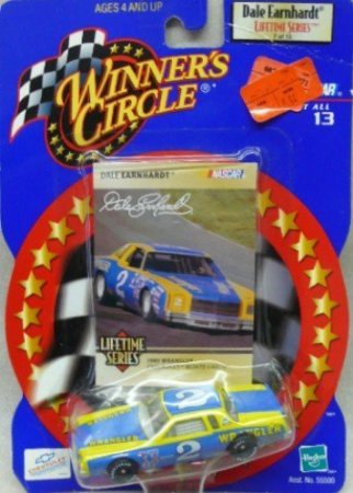 Winner's Circle - Dale Earnhardt Lifetime Series - 2000 - NASCAR - 7 of 13 - No. 2 1980 Wrangler Chevrolet Monte Carlo - 1:64 Scale Die Cast Replica Car Car and Collector Card ()