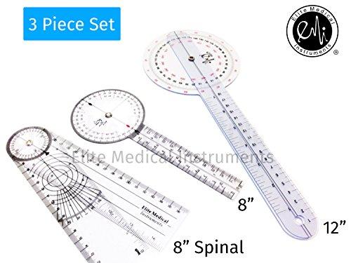 EMI Goniometer 3 Piece Set 12