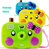 Livoty Camera Toy Projection Simulation Digital Camera Children Education Toys Gift (Random Color)